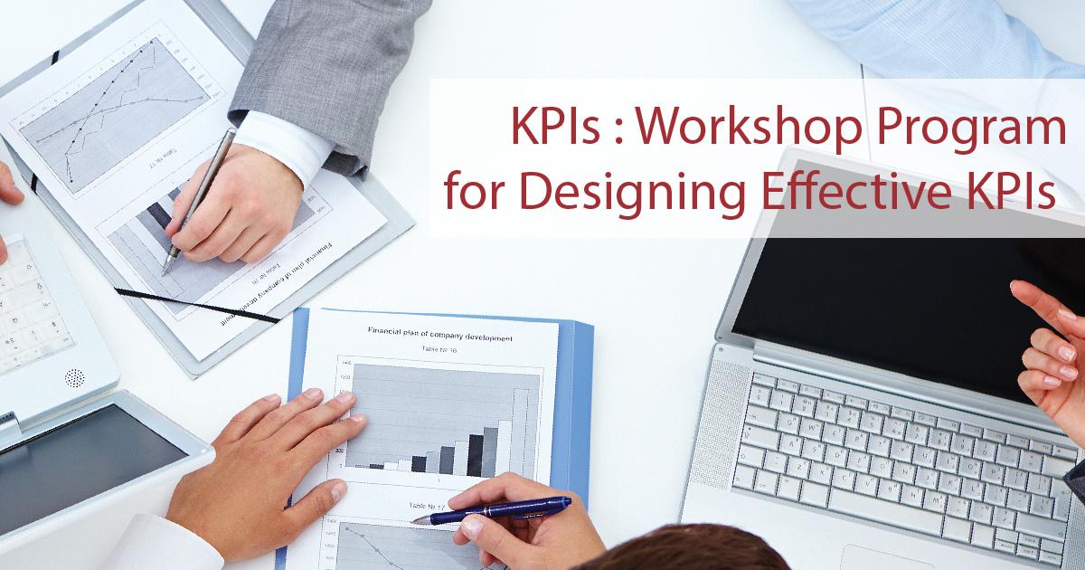 โปรแกรมอบรมเชิงปฏิบัติการสำหรับการออกแบบตัวชี้วัด KPIs