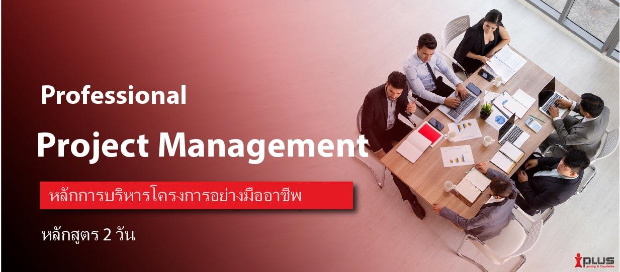 หลักสูตรอบรม : Professional Project Management (รศ.ดร.วิพุธ อ่องสกุล)